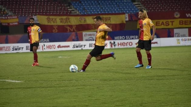 East Bengal will play Aizawl in the quarters of the Super Cup.(AIFF)