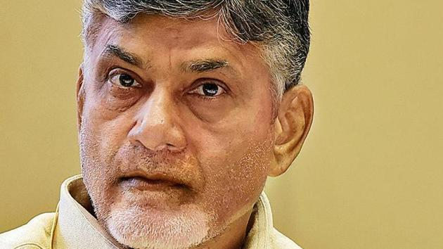 Andhra Pradesh chief minister and TDP chief N Chandrababu Naidu alleged that the BJP is tarnishing his reputation.(Mohd Zakir/ HT File Photo)