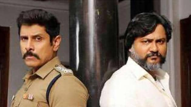 Vikram and Bobby Simha will be seen sharing screenspace in Saamy Square.