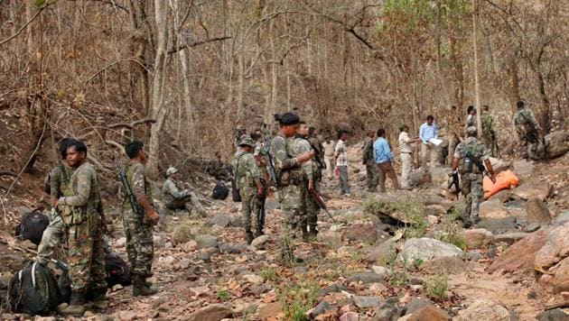 Security forces have intensified combing operations in places near roads in Maoist-hit areas and around camps set up for deployment of the forces, police said.(PTI Photo/rRpresentative image)