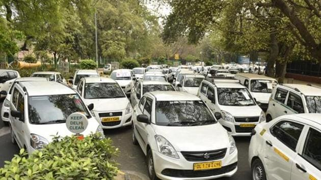 Ola has partnered with Acko General Insurance and ICICI Lombard General Insurance to launch the program across over 110 cities in the country, the Bengaluru-based company said in a statement.(Sanchit Khanna/HT PHOTO)