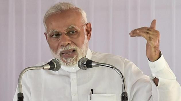 Modi also remembered Babu Jagjivan Ram on his birth anniversary and said he is a 'self-made and industrious' man, whose contribution to the nation can never be forgotten.(PTI)