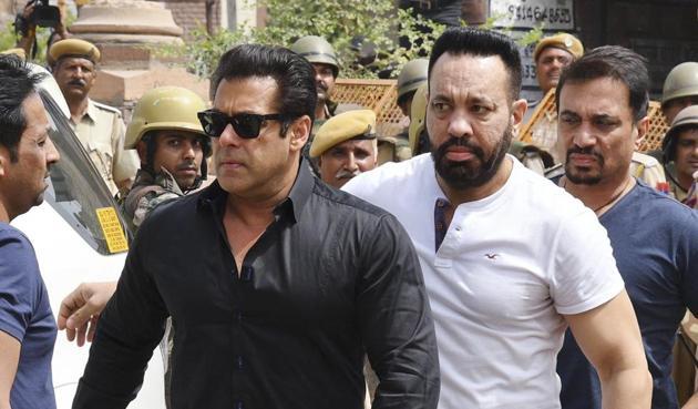 Bollywood star Salman Khan has been sentenced to five years in jail in the blackbuck poaching case.(AP)