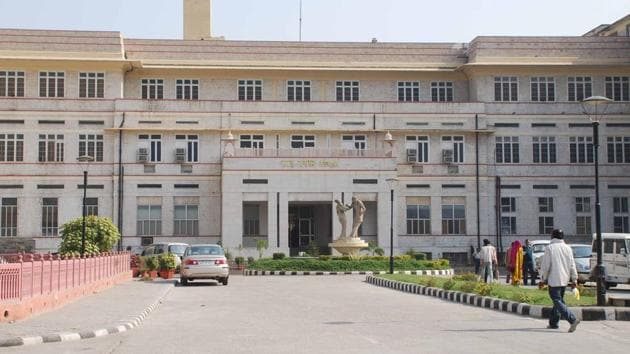 Sawai Man Singh Hospital in Jaipur.(HT FILE PHOTO)