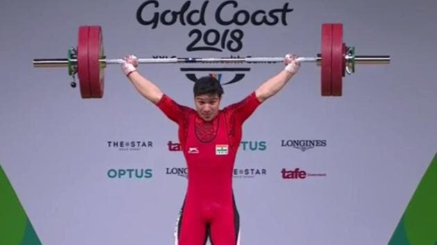 Deepak Lather became the youngest male weightlifter to win a Commonwealth Games medal when he won India's fourth medal - a bronze - at the 2018 Commonwealth Games at Gold Coast on Friday.(Twitter)