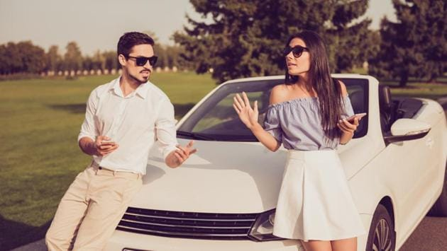The survey found that unlike the men, a large percentage of women respondents (nearly 64%) trust their spouse when it comes to driving.(Shutterstock)