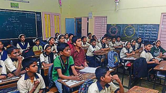 A total of 2,000 students within Thane district have failed to take admission in the first round.(HT FILE)