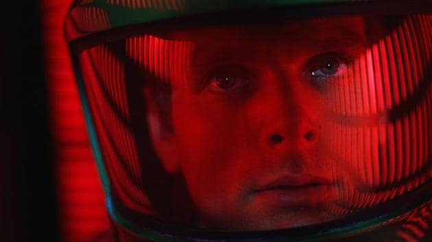This image released by Warner Bros. Pictures shows Keir Dullea in a scene from the 1968 film, 2001: A Space Odyssey. An unrestored 70mm print of Stanley Kubrick's masterpiece is coming to select US theatres in May in celebration of the film's 50th anniversary(AP)