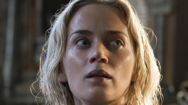 John Krasinski makes one of the best horror movie debuts of all time with A Quiet Place, starring real life wife, Emily Blunt.(AP)