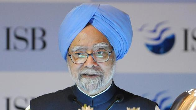 Former PM Manmohan Singh said everyone should vow to walk the path laid down by freedom fighter Jagjivan Ram and 'make the country progress in social justice'.(HT File Photo)