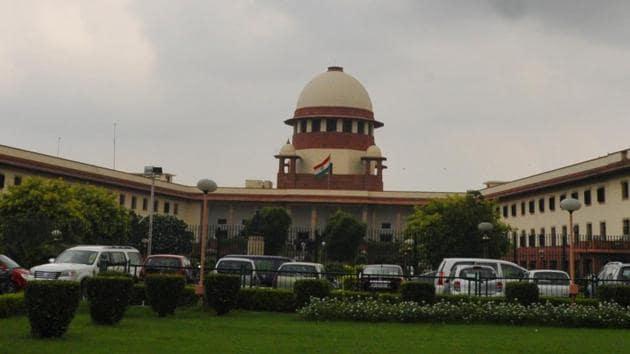 The plea to Supreme Court was made by senior advocate Rajeev Dhavan.(Sonu Mehta/HT Photo)