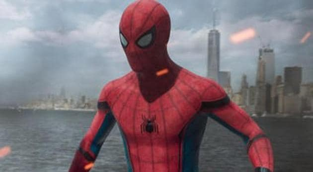 Tom Holland plays Spider-Man/Peter Parker in the Marvel Cinematic Universe.