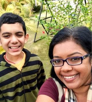 'The more I read and spoke to other parents, the more I realised how important it would be for me to accept my son as he was,' Shetty says. 'We began using therapies and support groups to find a way forward. We got family and friends involved, which helped normalise the situation for him and for us.'