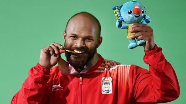 Get highlights of 2018 Commonwealth Games in Gold Coast here. Indian weightlifters Sathish Kumar Sivalingam and Ragala Venkat Rahul won gold medals at the Carrara Sports Arena in Gold Coast on Saturday.(PTI)