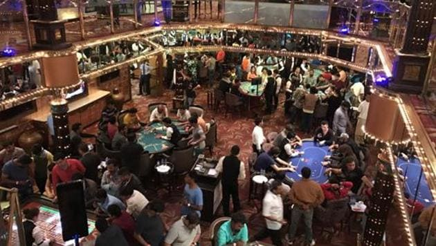 Goa's coast has many offshore casinos that are a popular hotspot.(HT File Photo)