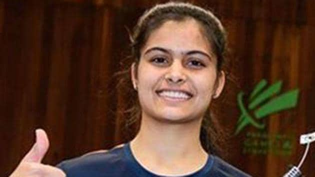 Manu Bhaker will lead India's medal hopes in shooting at the 2018 Commonwealth Games.(PTI)