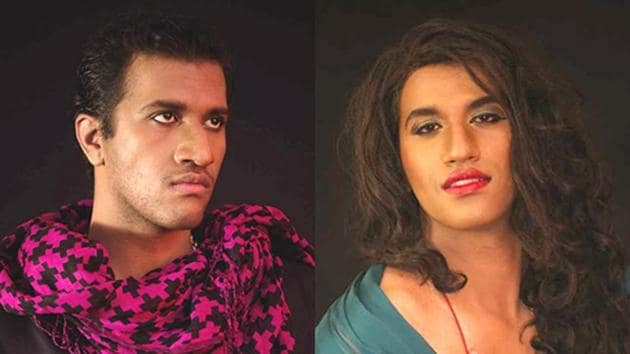 Alex Mathew, a public relations manager at a hotel in Bengaluru, transforms into drag queen Maya, who is the epitome of elegance and sass.(Courtesy Alex Mathew)