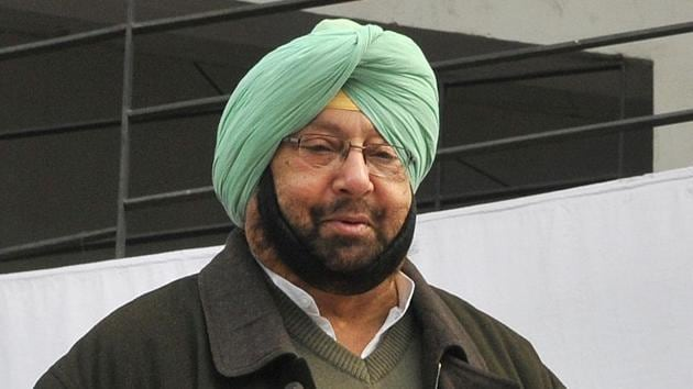 Amarinder Singh made the announcement during the 'Baisakhi Lunch 2018', hosted by the Sikh Regiment at the Khetarpal Officers' Institute (KOI) in the military station(HT File)
