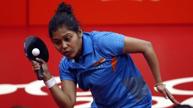 Get highlights of 2018 Commonwealth Games Gold Coast here. India won their seventh gold medal of the 2018 Commonwealth Games in table tennis.(REUTERS)
