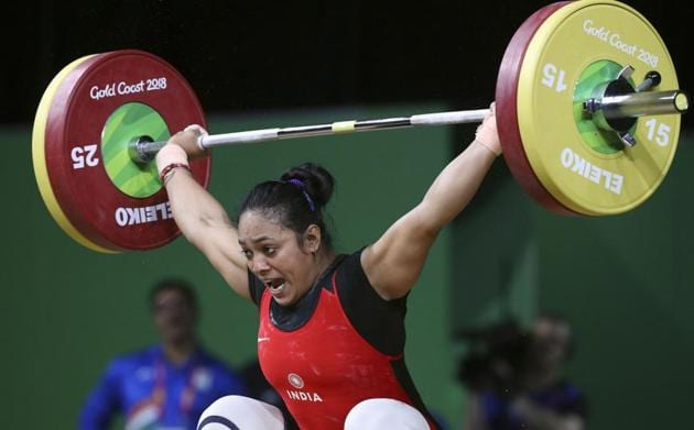 Punam Yadav won the gold medal in women's 69kg weightlifting at the 2018 Commonwealth Games.(REUTERS)