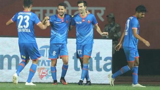 FC Goa and Jamshedpur FC face each other in a Super Cup quarter-final on Thursday.(ISL / SPORTZPICS)