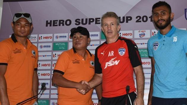 Neroca FC will face Bengaluru FC in the Super Cup quarterfinals on Thursday.(AIFF)