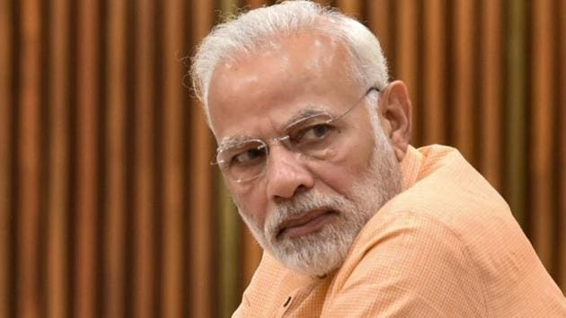 Prime Minister Narendra Modi arrived in Chennai on Thursday.(PTI File Photo)