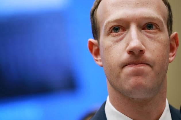 Facebook co-founder, Chairman and CEO Mark Zuckerberg testifies before the House Energy and Commerce Committee in Washington, DC. This is the second day of testimony before Congress by Zuckerberg, 33, after it was reported that 87 million Facebook users had their personal information harvested by Cambridge Analytica, a British political consulting firm linked to the Trump campaign.(AFP)