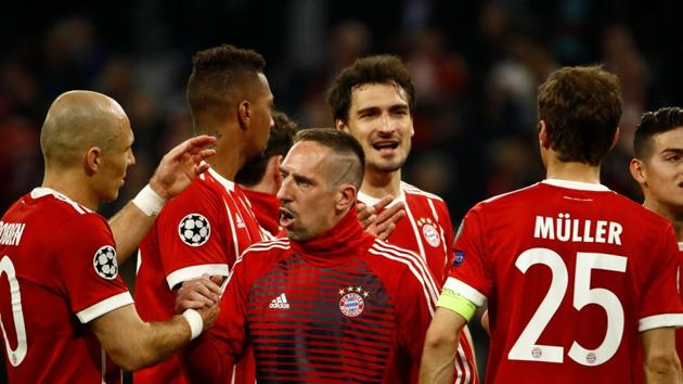 Bayern Munich will playing their seventh semi-final in last nine years of the UEFA Champions League after overcoming Sevilla.(AFP)