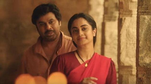 Kammara Sambhavam stars Dileep and Sidharth in the lead roles.(YouTube Grab)
