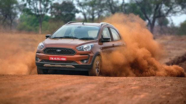 Ford Freestyle review: The Freestyle doesn't get ruffled by bumps taken at speed, the suspension filters out most of the thuds and only little of that road shock is transmitted to the steering on really bad patches.