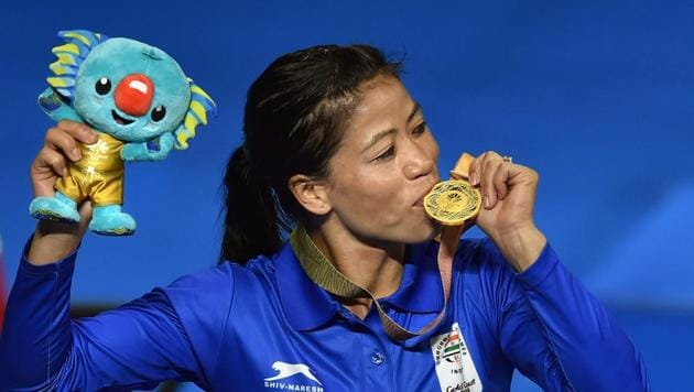 India's Mary Kom won the women's 48kg boxing gold at the 2018 Commonwealth Games in Gold Coast, Australia on Saturday.Get detailed information on live streaming of Commonwealth Games 2018 Gold Coast here.(PTI)