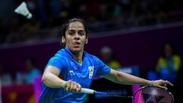 Saina Nehwal emerged victorious over PV Sindhu to win the women's singles badminton gold medal in the 2018 Commonwealth Games in Gold Coast on Sunday.(AFP)