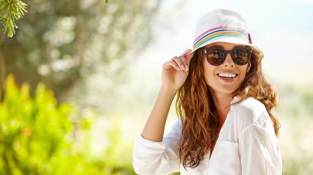 Wearing good quality spectacles or sunglasses outside can protect your eyes from the germs and bacteria in the atmosphere, thereby, protecting your eyes from bacterial, fungal and viral infections.(Shutterstock)