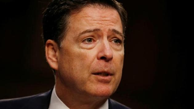 Former FBI chief James Comey gave an interview to ABC ahead of his book release.(Reuters File Photo)