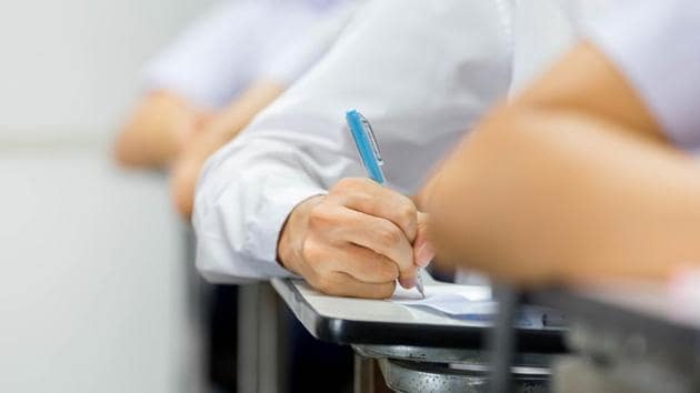 Candidates should check their details such as roll number, name, father's name, category, name and address of examination centre allotted on their admit card.(Shutterstock)