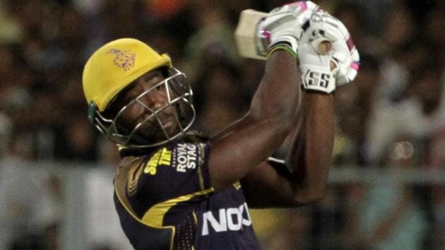 Andre Russell, who has performed brilliantly in IPL 2018, will play for West Indies in the T20 fundraiser against World XI.(AP)