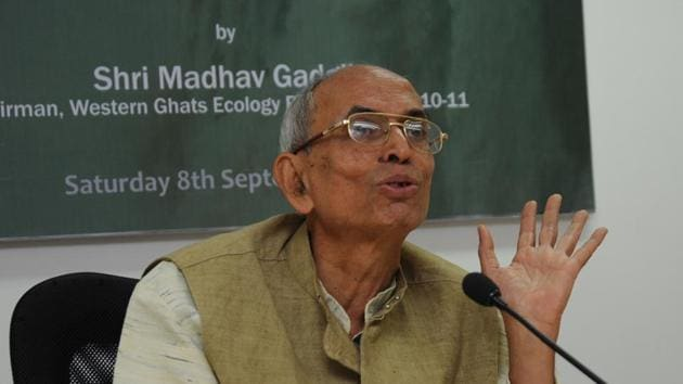 Madhav Gadgil is an Indian ecologist, academic, writer, and founder of the Centre for Ecological Sciences, a research forum under the aegis of the Indian Institute of Science.(HT PHOTO)