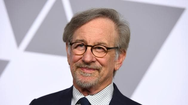 Steven Spielberg arrives at the 90th Academy Awards Nominees Luncheon in Beverly Hills.(Jordan Strauss/Invision/AP)