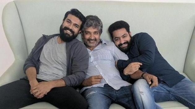 SS Rajamouli is currently working finishing the final draft of the script of RRR.