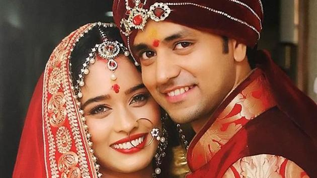 Actors Neha Saxena and Shakti Arora were dating for over five years.(Instagram)