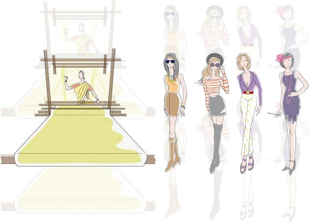 The fashion world want these trends to make a comeback.(Illustrations: Mitrarun Halder)