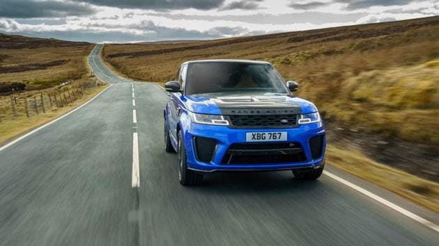 The Range Rover Sport SVR facelift gives it a few styling tweaks, more equipment and more power.