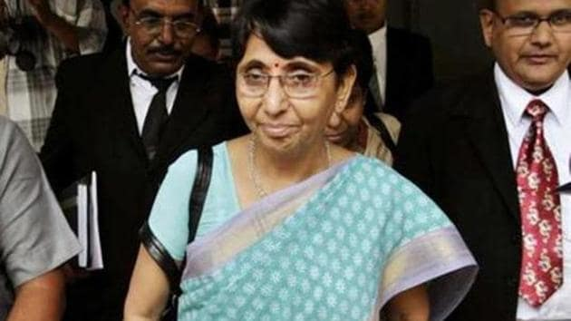 Maya Kodnani was sentenced to 28 years in jail by a SIT court in 2012. She was out on bail from July 2014.(AP File Photo)