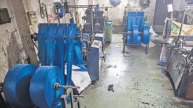 Since the ban, 2,150 units have been shut.(Pratik Chorge/HT Photo)