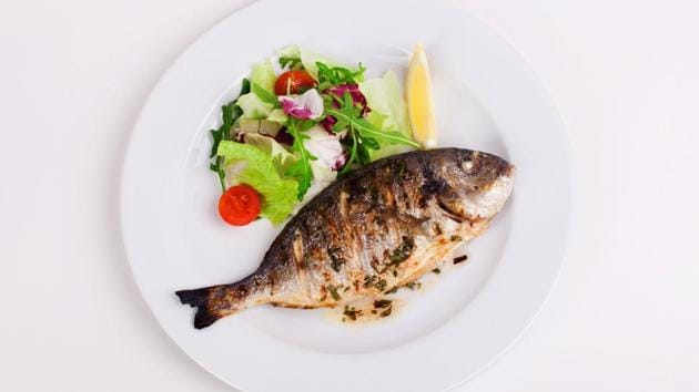 In your daily diet, include fish because it has Omega 3 and -6 which experts say is your skin's best friend.(Shutterstock)
