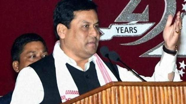 The decision to protect land rights of indigenous people is in line with the BJP and its chief minister Sarbananda Sonowal's (pictured) poll plank of protecting their 'jati, mati, bheti' — identity, land and base.(PTI/File Photo)
