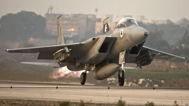 An Israeli-Iranian showdown has loomed since Feb. 10, when Israel said an armed drone sent from a Syrian base penetrated its air space.(Reuters File Photo)
