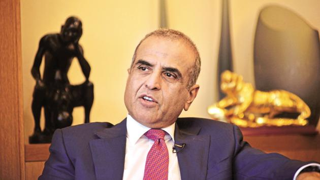 To withstand Ambani's triple play of carriage, content and commerce, Sunil Mittal (pictured here) will need to offer customers more than free Netflix.(Pradeep Gaur/Mint)