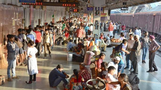 The Northern Railway, for its part, will enhance accommodation in trains by over 3.88 lakh berths/seats between April and June.(HT File Photo)